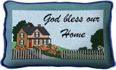 God Bless Our Home (Pillow)