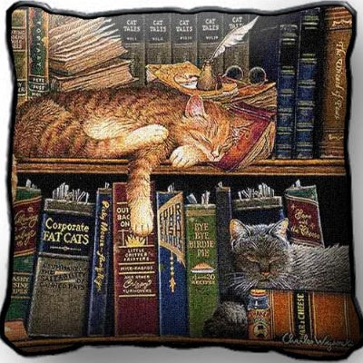 Remington The Well Read Plw (Pillow)