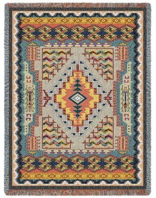 Southwest Turquoise Tapestry (Tapestry Throw)
