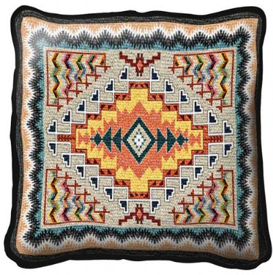 Southwest Turquoise Pillow (Pillow)