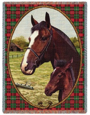 Cheval Tapestry (Tapestry Throw)