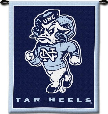 University North Carolina Mas Woodr (Wall Hanging)