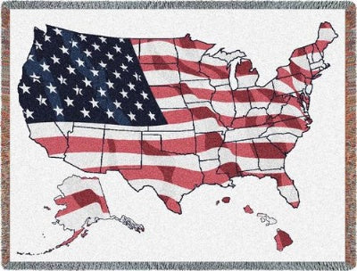 Usa (Tapestry Throw)