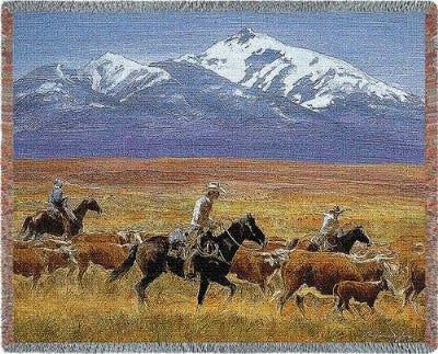 Homeward Bound Tapestry (Tapestry Throw)