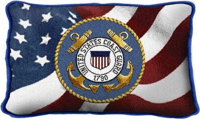 Coast Guard Logo (Pillow)