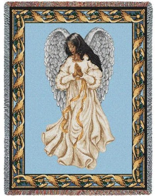 Guardian Angel Mahogony (Tapestry Throw)