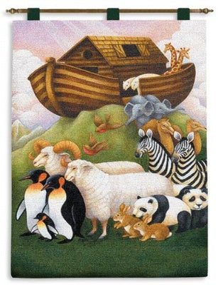 Exiting The Ark Wh-Wr (Wall Hanging)