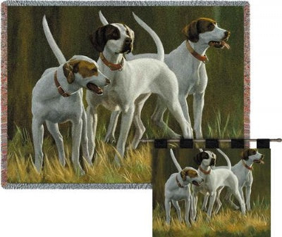 First Light Hounds Wh-Woodrod (Wall Hanging)