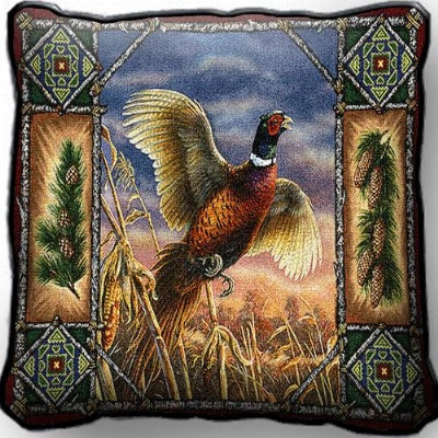 Pheasant Lodge Pillow (Pillow)