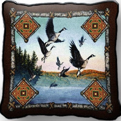 Geese Lodge Pillow (Pillow)
