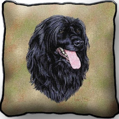 Portuguese Water Dog Pillow (Pillow)