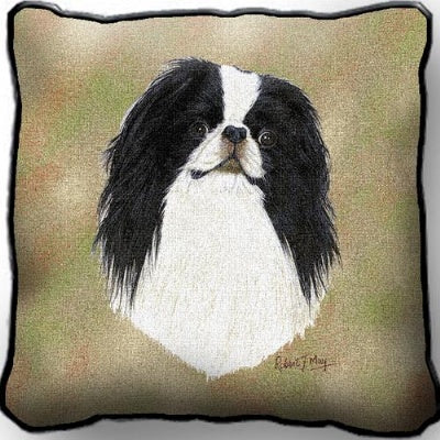 Japanese Chin Pillow (Pillow)