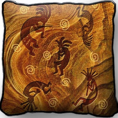 Kokopelli/Ancient Ones Pillow (Pillow)