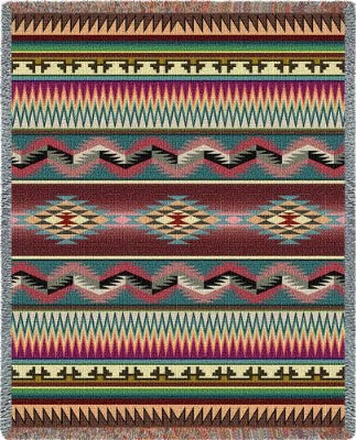 Desert Stripe (Tapestry Throw)