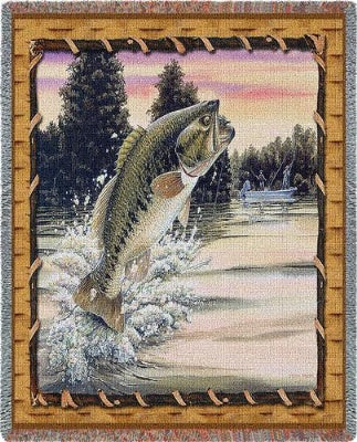 Bass Attack (Tapestry Throw)