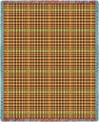 Herringbone Russet (Tapestry Throw)