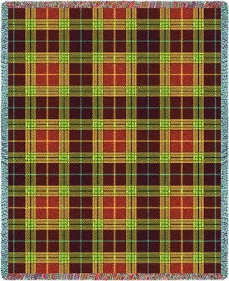 Woods Plaid (Tapestry Throw)