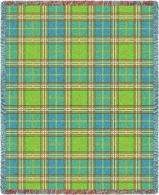 Freshwater Plaid (Tapestry Throw)