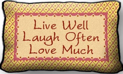 Live Laugh Love (Pillow)