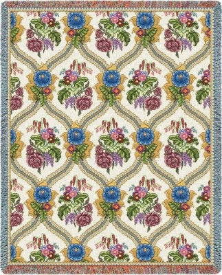 Bouquet (Tapestry Throw)