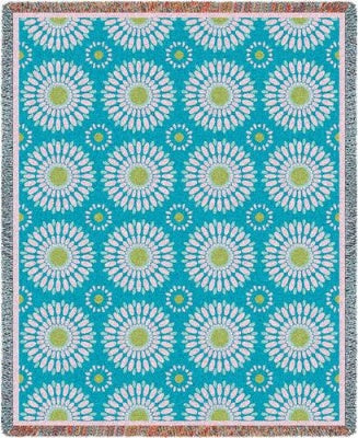 Blossom Whimsy (Tapestry Throw)