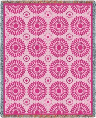 Blossom Pink (Tapestry Throw)