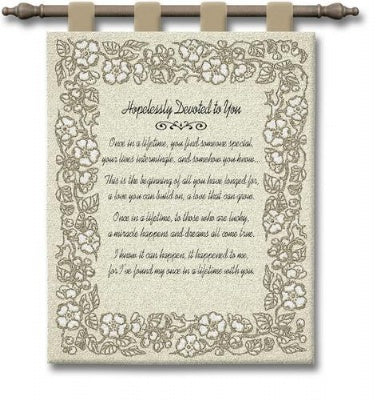 Wedding Embroidery Gold (Wall Hanging)
