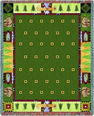 Lodge Creek (Tapestry Throw)