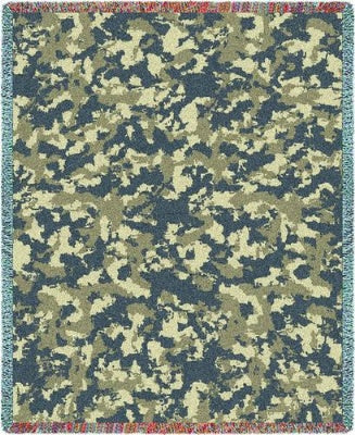 Camo Desert (Tapestry Throw)