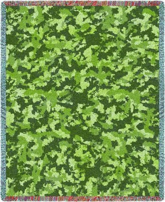 Camo Woods (Tapestry Throw)