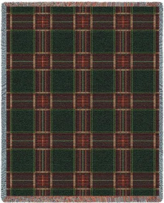 Golf Plaid (Tapestry Throw)