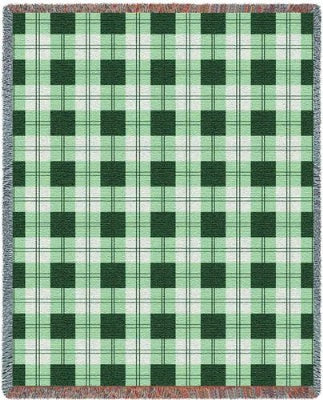 Gooseberry Plaid (Tapestry Throw)