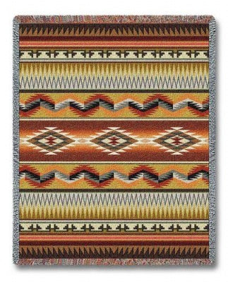 Apache Blanket Earth (Tapestry Throw)