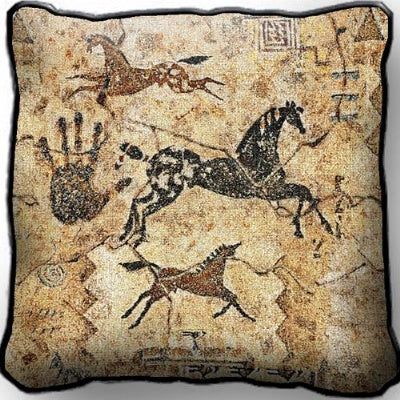 Tlalocs Tribe Pillow (Pillow)