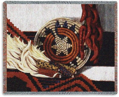 Indian Market Tapestry (Tapestry Throw)