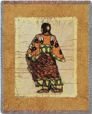 Indian Maiden (Tapestry Throw)