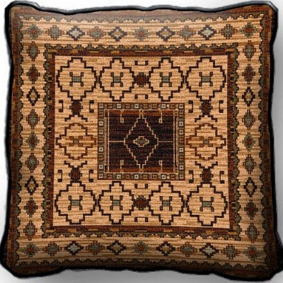 Acoma Moccasin Pillow (Pillow)