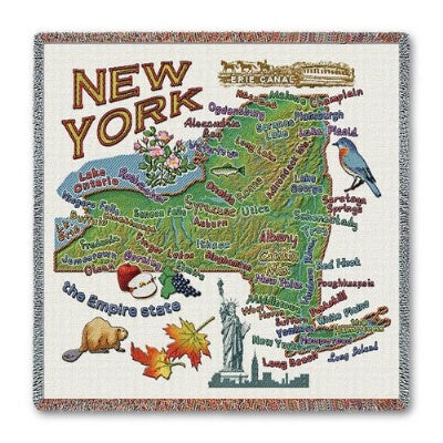 New York State Lapsq   (Tapestry Throw)