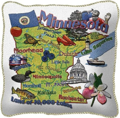 Minnesota State Pillow (Pillow)