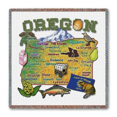 Oregon State Lapsq  (Tapestry Throw)