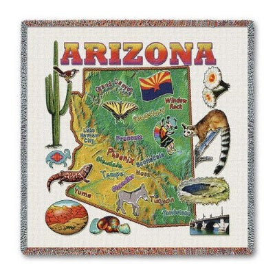 Arizona State Lapsq (Tapestry Throw)