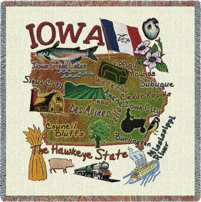 Iowa State Lapsq (Tapestry Throw)