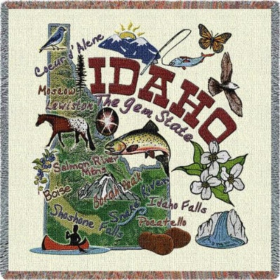 Idaho State Lapsq (Tapestry Throw)