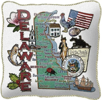 Delaware State Pillow (Pillow)