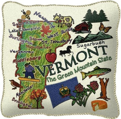 Vermont State Pillow (Pillow)