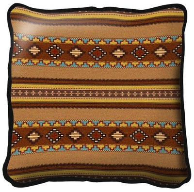 Saddleblanket Clay Pillow  (Pillow)