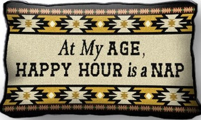 At My Age West (Pillow)