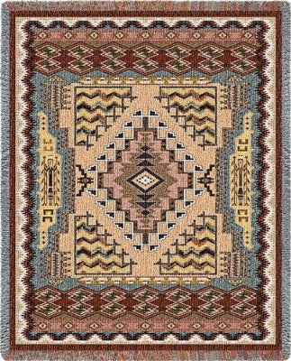 Sw Butte Clay (Tapestry Throw)
