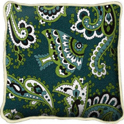 Paisley Teal Pillow (Pillow)