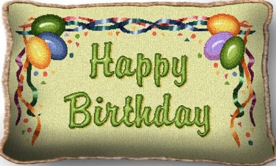Happy Birthday (Pillow)